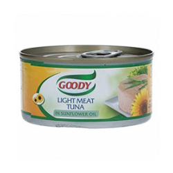 GOODY - LIGHT MEAT TUNA IN OIL 90 GR