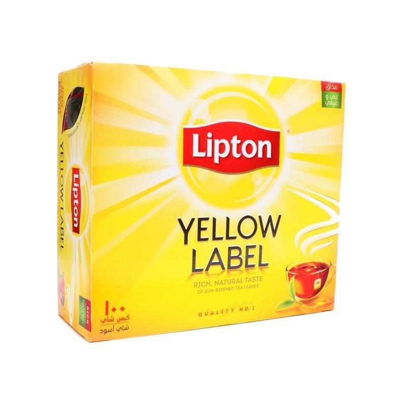 Lipton tea yellow label 100 bags