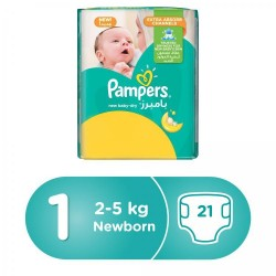 Pampers 1 21 pads