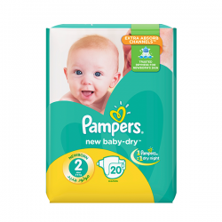 Pampers 2 - 20 pads