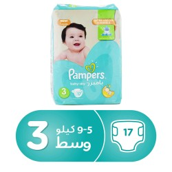 Pampers 3 - 17 pads
