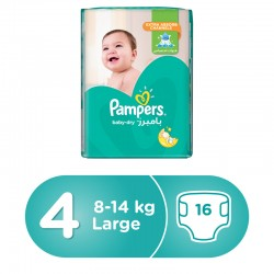Pampers 4 - 16 pads