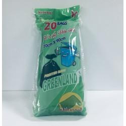 جرين لاند اكياس قمامة كبير جدا 70*90 سم 20 كيس