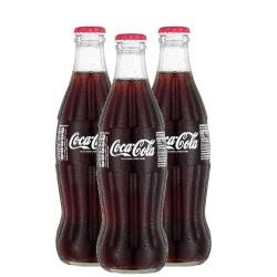 كوكا كولا الزجاجة 250 مل - 3 حبات