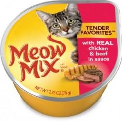مياو مكس طعام قطط رطب 78 غم
